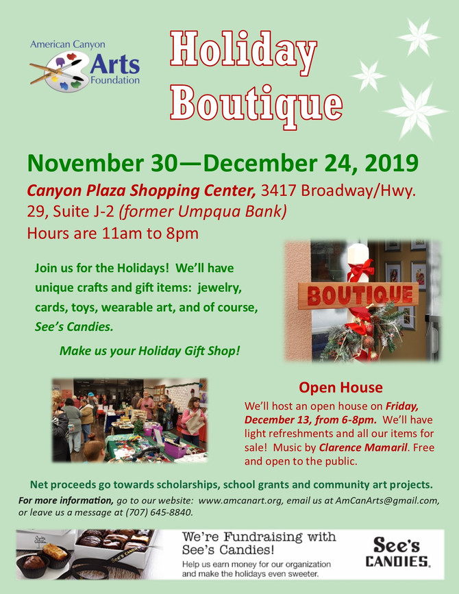 The Boutique is Now Open!