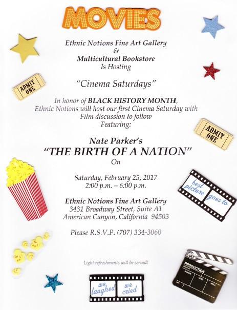 Cinema Saturday--Birth of a Nation