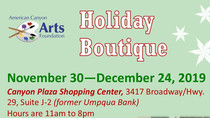 Holiday Boutique Opens Nov. 30!