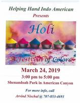 Holi Festival Success! March 24, 2019