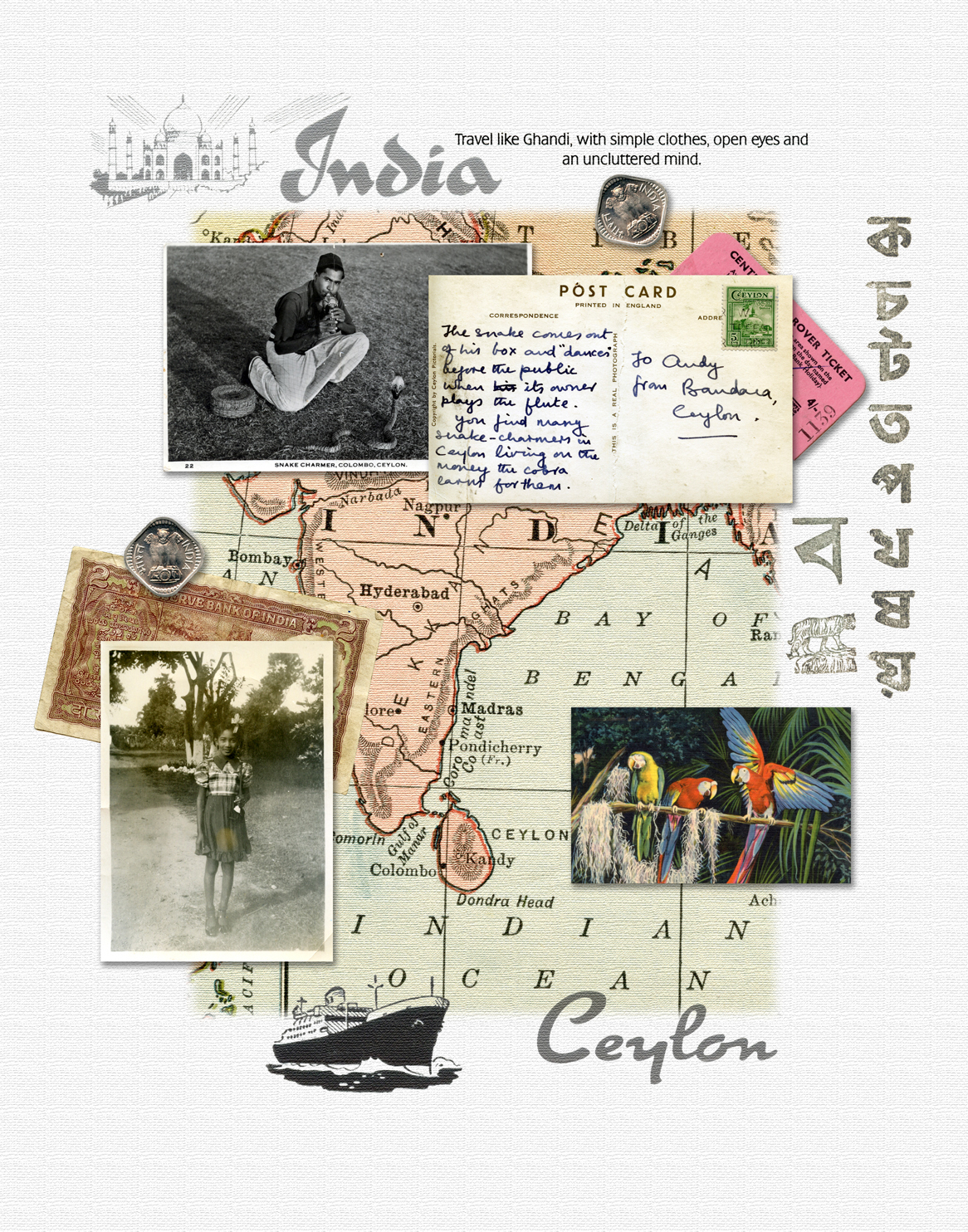 28--India Ceylon