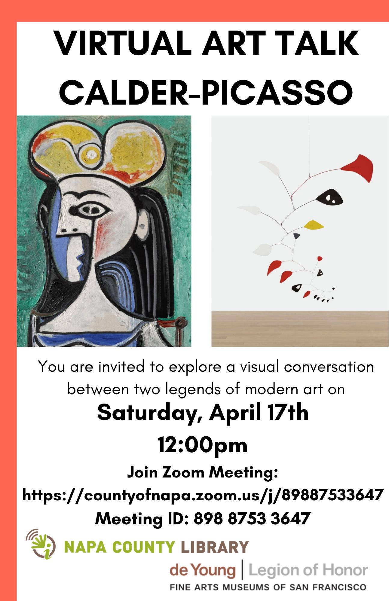 Virtual Art Talk: Calder-Picasso