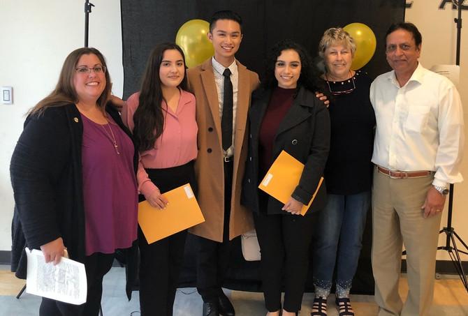 2018 Scholarship Recipients!