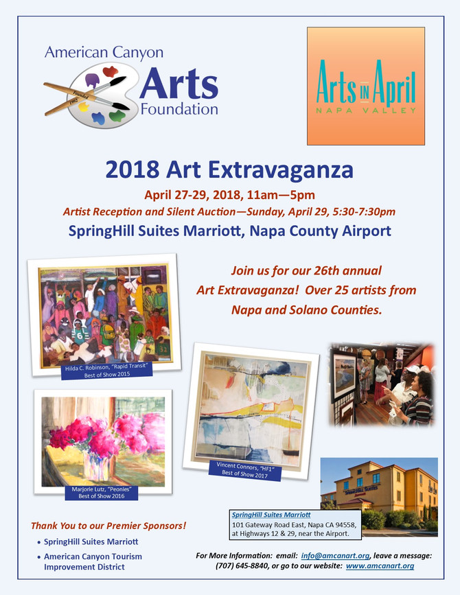 Join Us for the 26th Annual Art Extravaganza