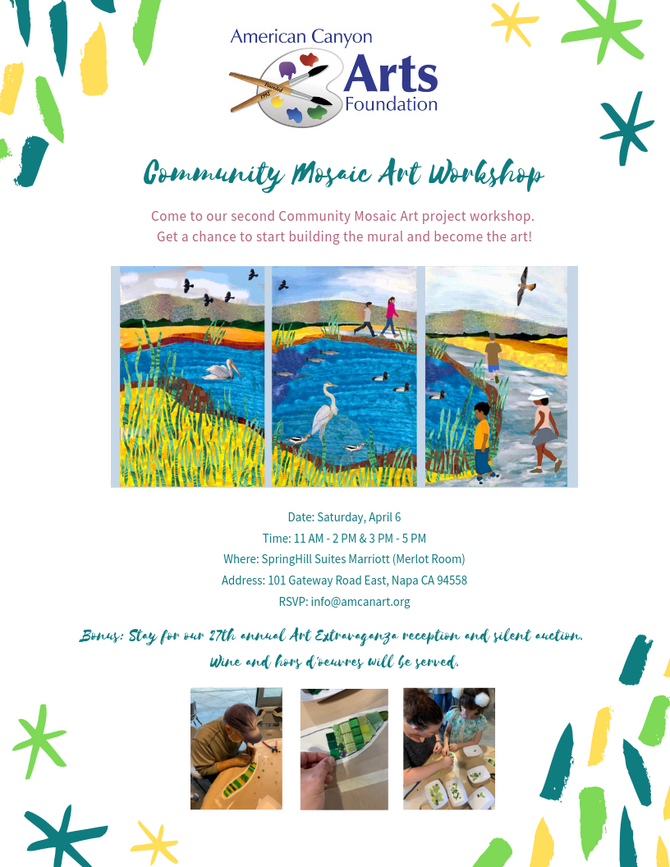 Community Mosaic Kick Off - March 23, 2019