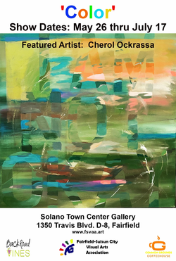 Color Exhibit at Solano Town Center Gallery