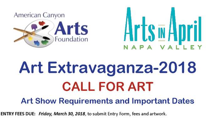 The 2018 Call For Art is here!