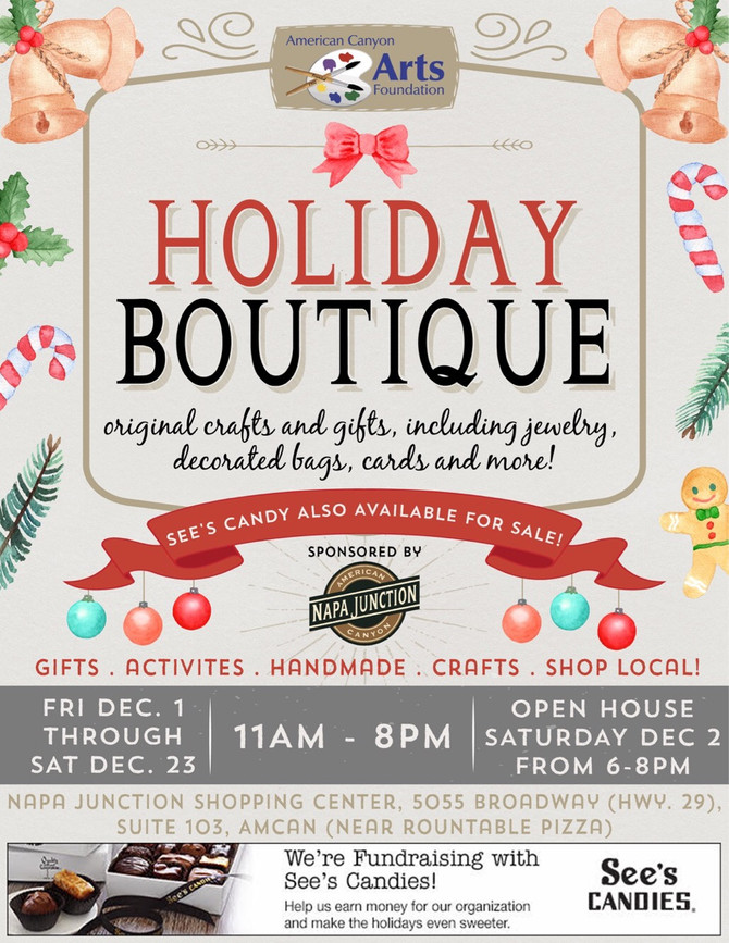 Our Holiday Boutique Flyer!!