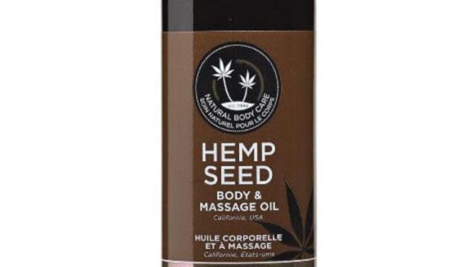 Hemp Seed Body & Massage Oil