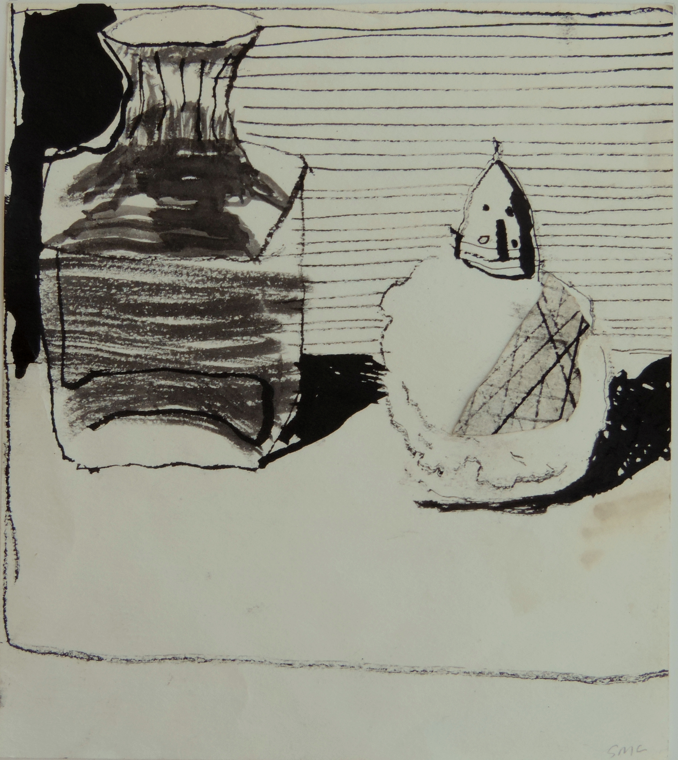 Vase and Salt drawing