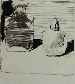 Vase and Salt drawing