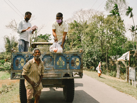 Feeding a nation through lockdown: Photos from frontline groups in India
