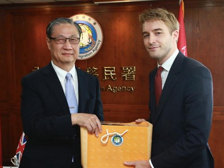 Arise visits Taipei to discuss human trafficking partnership with ministers