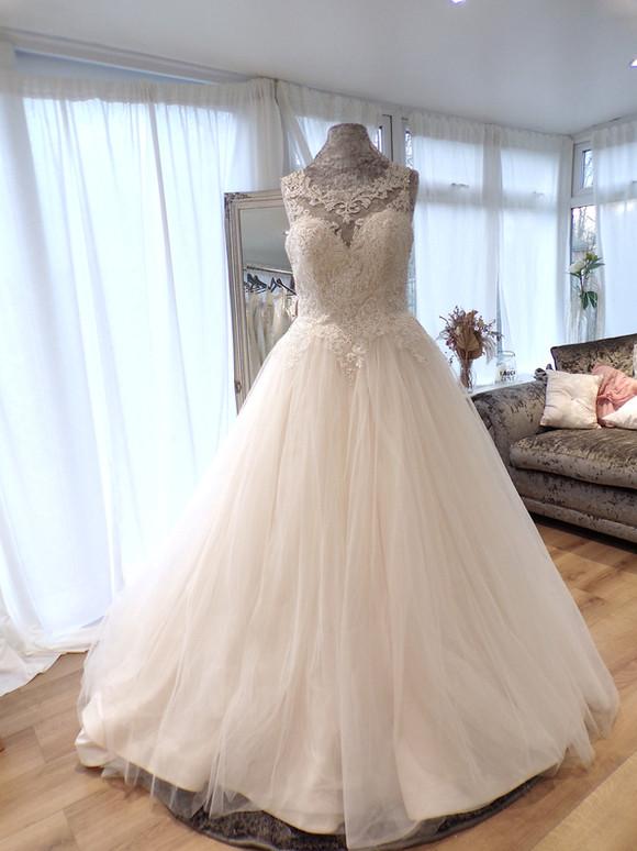 Designer - Viva Bride Size 14 £699 Ref SK36