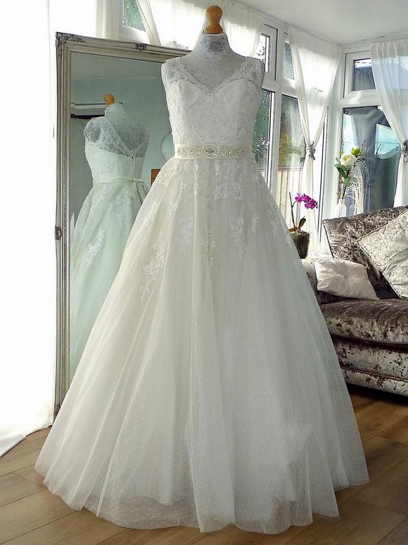 Designer - Charlotte Balbier Size 12 £600 Ref SK13