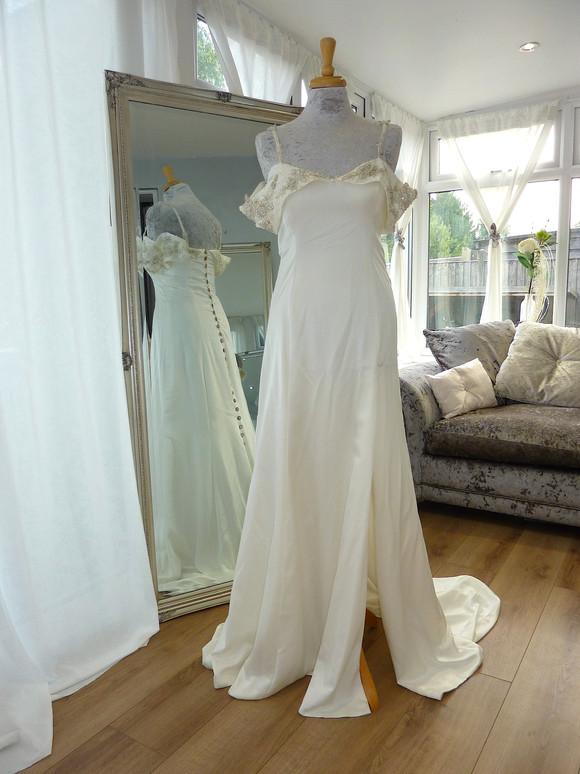 Designer Stephanie Kyles Bridal Size 10 £400 Ref SK02