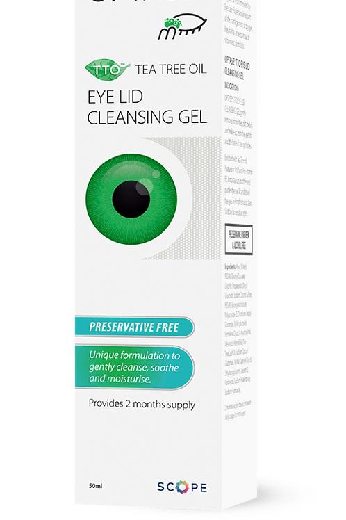 OPTASE Tea Tree Oil Eye Lid Cleansing Gel