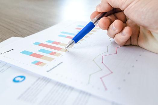 Analysis of figures on chart