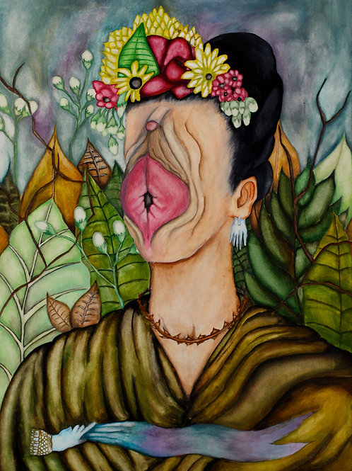 Frida Shaved-Print