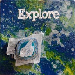 Explore with Selenite, Agate, Quartz