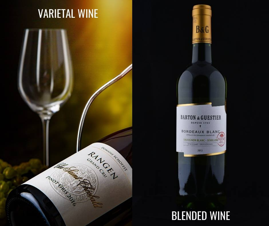 varietal and blended wines