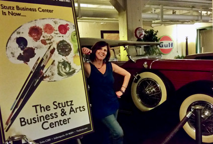 Terri at the Stutz Business Center