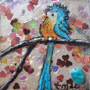 Bluebird on My Shoulder