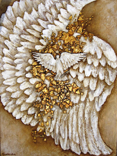 Wings of Grace Collection ETERNAL with Quartz and 24 ct Gold Leaf.JPG