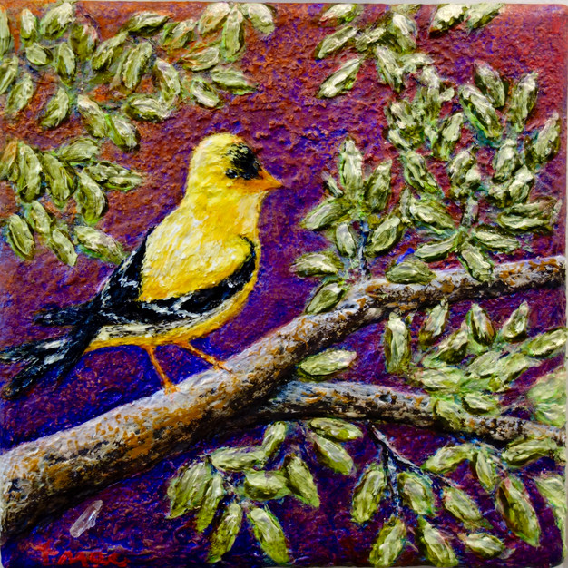 Yellow Magic in the Trees