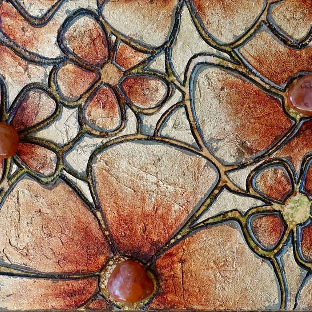 Floral Fields of Carnelian