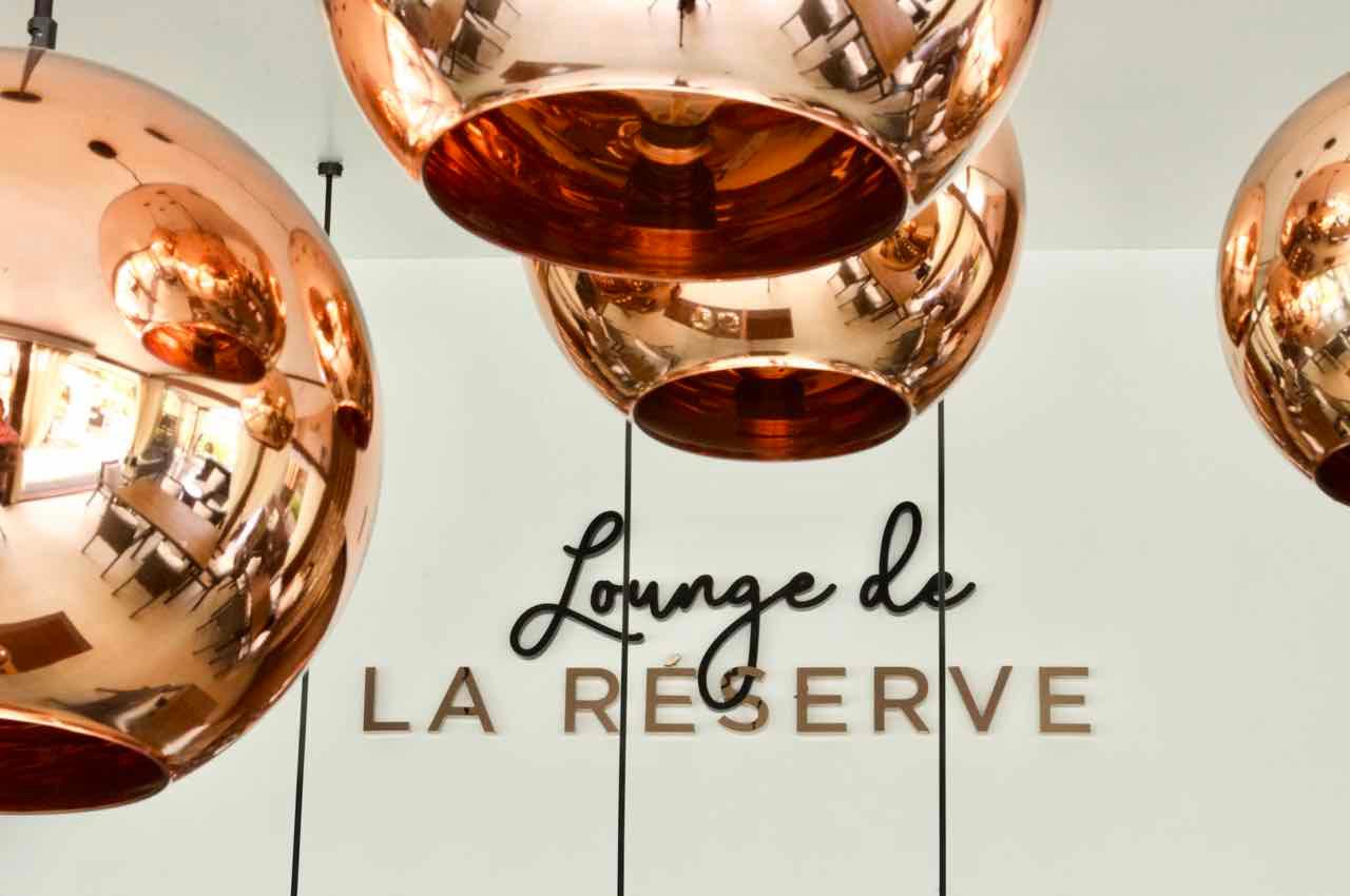 Lounge de La Réserve: Restaurant