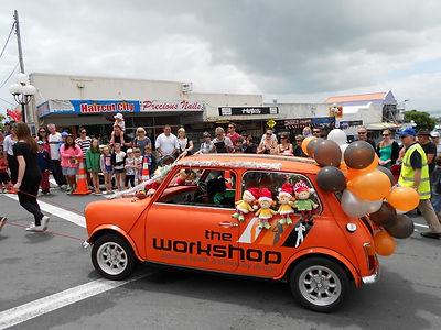 Birkenhead Santa Parada Float 2013!
