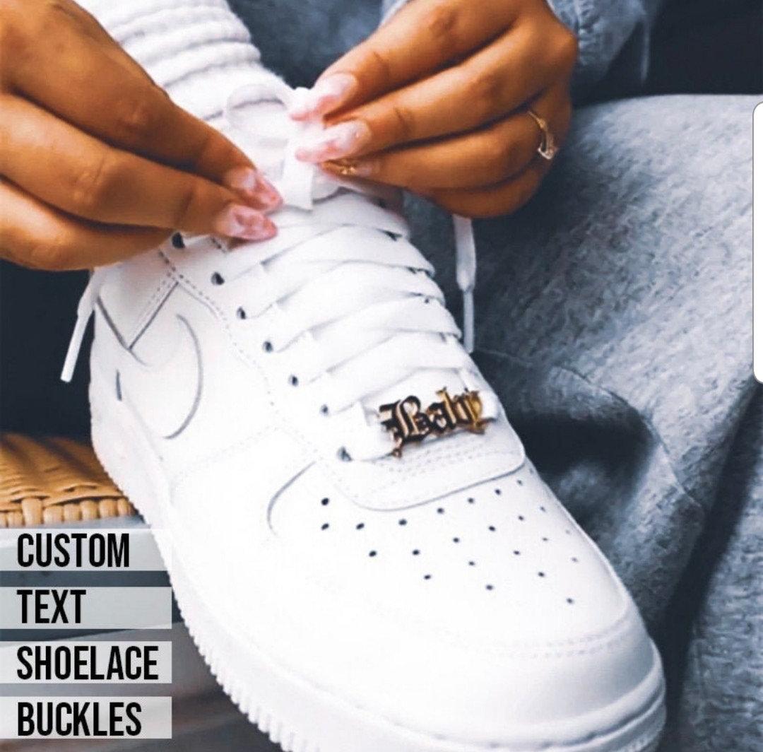 Custom Shoelace Buckle | Swarovski