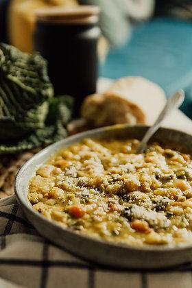 Split Pea Veggie Soup (Half Gallon Size)