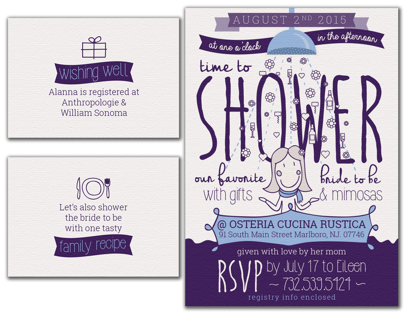 Cooper - Nappi Bridal Shower Invite