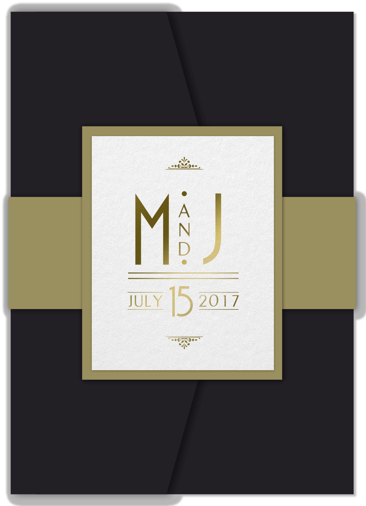 Art Deco Invitations - Cover
