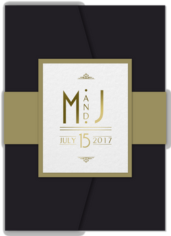 Art Deco Invitations - Cover