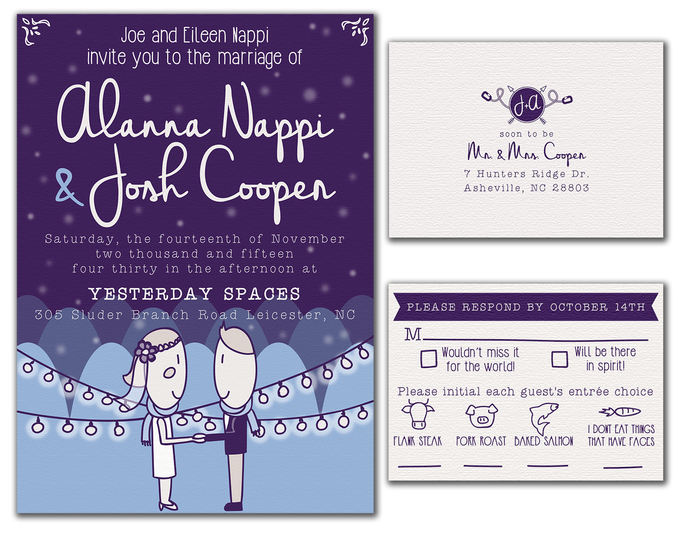 Cooper-Nappi Wedding Invite