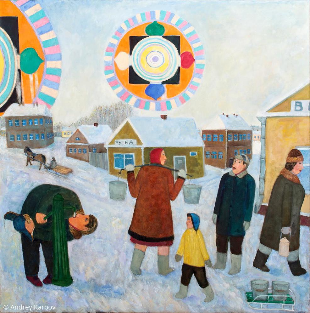 Андрей Карпов. Зимняя мандала