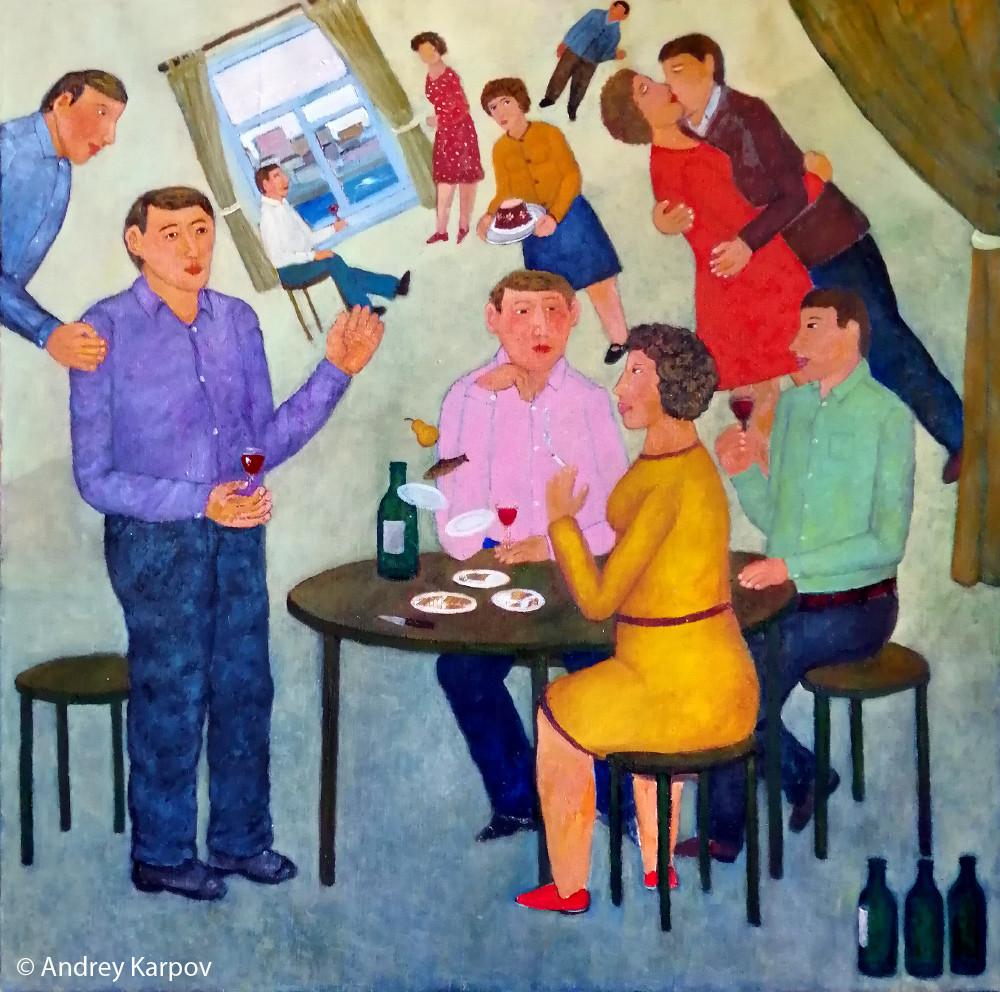 Андрей Карпов. Хорошее вино