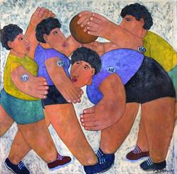 Женщины, играющие в мяч
