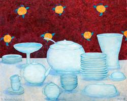 Натюрморт с посудой