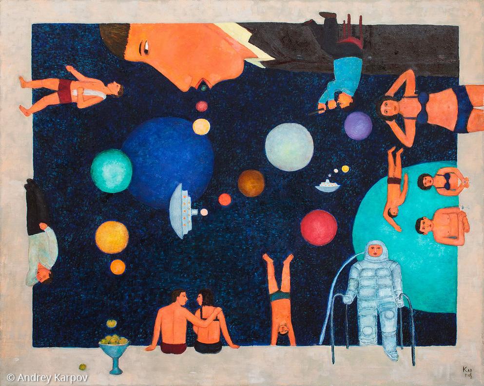 Космос как бассейн
