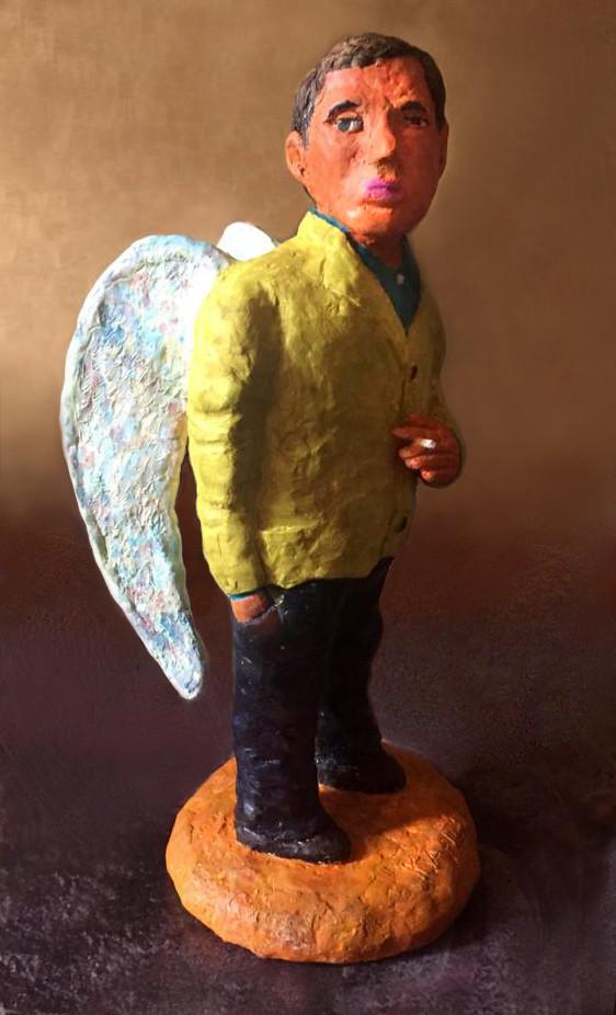 Андрей Карпов. скульптура Ангел