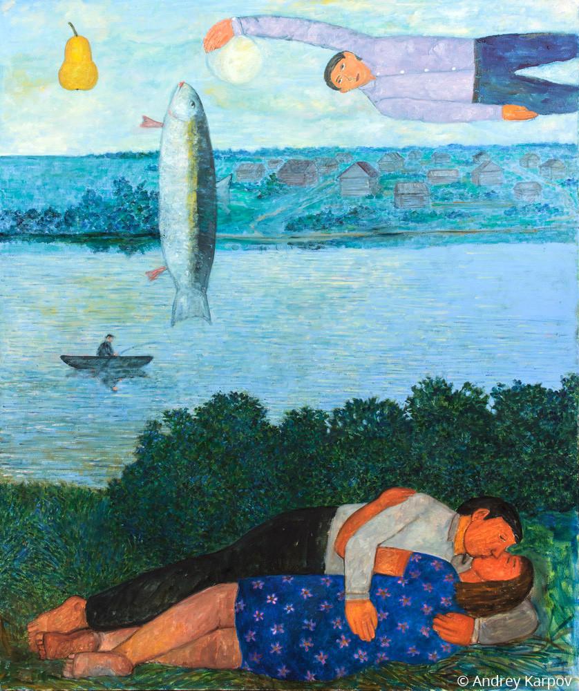 Андрей Карпов. Белая ночь