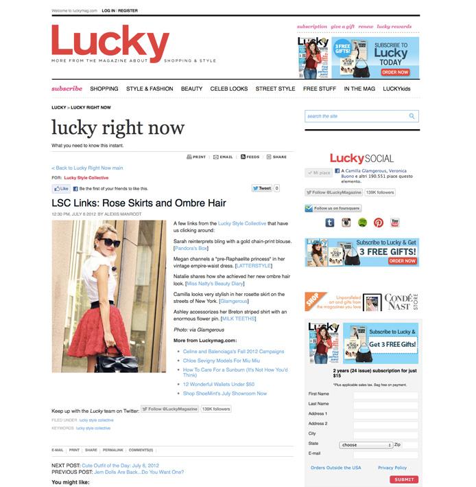 Lucky Mag