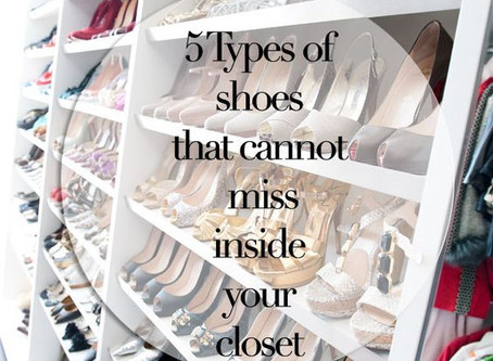 5 Types of Shoes That Cannot Miss In Your Closet {5 Scarpe Must-Have}