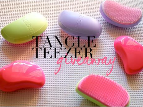 Tangle Teezer Giveaway On Glamgerous