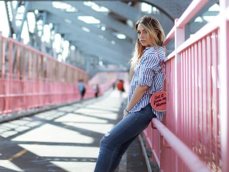 On The Pink Bridge