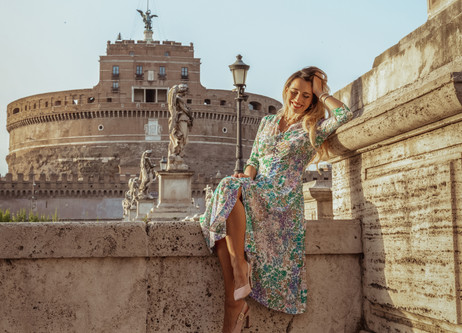 Rome Post - Lockdown - Castel Sant'Angelo
